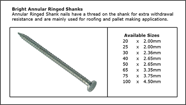 Annular Ringed Shank