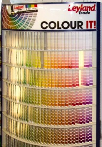 Leyland Colour Mixing
